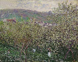 Monet   Fruit Pickers, 1879   Giclée Canvas Print