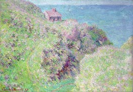 Monet   Customs House at Varengeville, 1897   Giclée Canvas Print