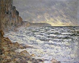 Monet   Seafront, Fecamp, 1881   Giclée Canvas Print