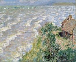 Monet   Rising Tide at Pourville, 1882   Giclée Canvas Print