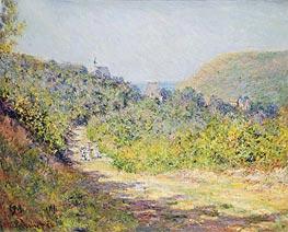 Monet   Aux Petites Dalles, 1884   Giclée Canvas Print