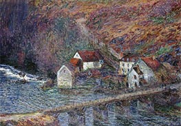 Monet | The Bridge at Vervy, 1889 | Giclée Canvas Print