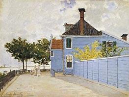 Monet | The Blue House, Zaandam, undated | Giclée Canvas Print