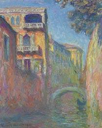 Monet | Venice - Rio de Santa Salute, 1908 | Giclée Canvas Print