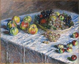 Monet | Apples and Grapes | Giclée Canvas Print