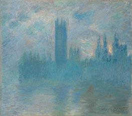 Monet | Houses of Parliament, London, c.1900/01 | Giclée Canvas Print