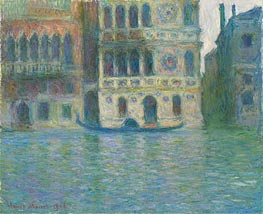 Monet | Venice, Palazzo Dario | Giclée Canvas Print