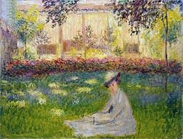 Monet | Woman in a Garden, 1876 | Giclée Canvas Print