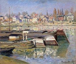 Monet | Seine at Asnieres, 1873 | Giclée Canvas Print