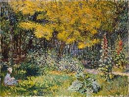 Monet | Garden, 1876 | Giclée Canvas Print