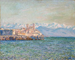 Monet | The Fort of Antibes, 1888 | Giclée Canvas Print