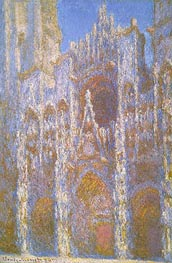 Monet | Rouen Cathedral, Facade, 1894 | Giclée Canvas Print