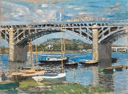 Monet | The Bridge at Argenteuil, 1874 | Giclée Canvas Print