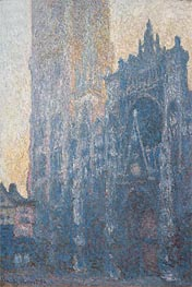 Monet | Rouen Cathedral: The Portal (Morning Effect), 1894 | Giclée Canvas Print