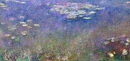Monet | Water Lilies (Agapanthus), c.1915/26 | Giclée Canvas Print