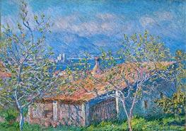 Monet | Gardener's House at Antibes, 1888 | Giclée Canvas Print