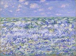 Monet | Waves Breaking, 1881 | Giclée Canvas Print