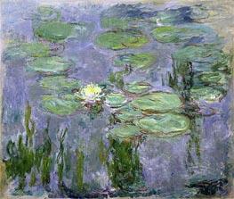 Monet | Nympheas, 1915 | Giclée Canvas Print