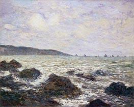 Monet | Coast of Normandy, 1882 | Giclée Canvas Print