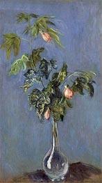 Monet | Flowers in a Vase, 1888 | Giclée Canvas Print