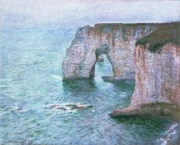 Monet | Manne-Porte, Etretat, 1885 | Giclée Canvas Print