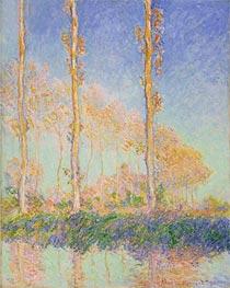 Monet | Poplars | Giclée Canvas Print