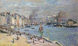 Monet | Port of Le Havre | Giclée Canvas Print