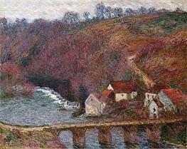 Monet | The Grande Creuse at Pont de Vervy | Giclée Canvas Print