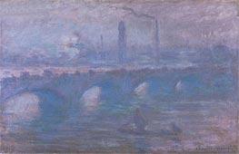 Monet | Waterloo Bridge, Morning Fog, 1901 | Giclée Canvas Print