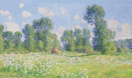 Monet | Spring in Giverny | Giclée Canvas Print