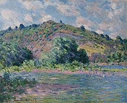 Monet | Banks of the Seine at Port-Villez, 1885 | Giclée Canvas Print