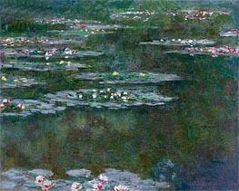 Monet | Nympheas (Water Lilies), 1904 | Giclée Canvas Print