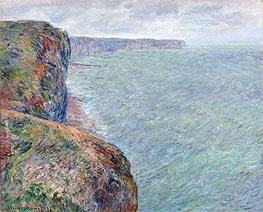 Monet | Sea View with Cliffs, 1881 | Giclée Canvas Print