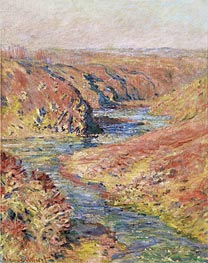 Monet | Valley of the Petite Creuse at Fresselines, 1889 | Giclée Canvas Print