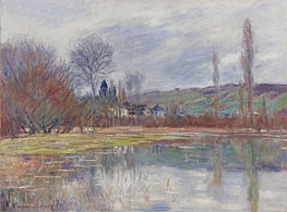 Monet | Spring in Vetheuil, 1881 | Giclée Canvas Print