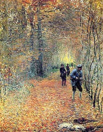 Monet | The Hunt, 1876 | Giclée Canvas Print