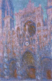 Monet | Rouen Cathedral: Setting Sun, 1894 | Giclée Canvas Print