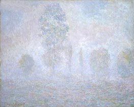 Monet | Morning Haze, 1888 | Giclée Canvas Print