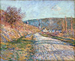 Monet | The Road to Vetheuil, 1879 | Giclée Canvas Print