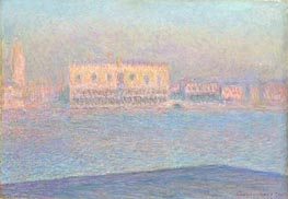 Monet | The Doge's Palace Seen from San Giorgio Maggiore, 1908 | Giclée Canvas Print