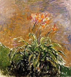 Monet | Hemerocallis, c.1914/17 | Giclée Canvas Print