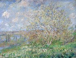 Monet | Spring, 1882 | Giclée Canvas Print