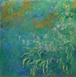 Monet | Irises, 1914 | Giclée Canvas Print