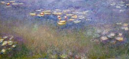 Monet | Water Lilies, c.1915-26 | Giclée Canvas Print