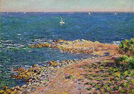 Monet | The Mediterranean by Mistral Wind, 1888 | Giclée Canvas Print