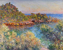 Monet | Near Monte Carlo | Giclée Canvas Print