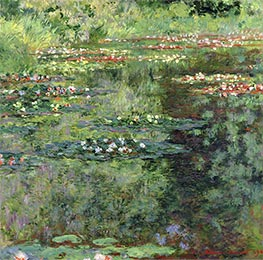 Monet | The Waterlily Pond, 1904 | Giclée Canvas Print