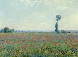 Poppy Field, 1926 by Monet | Giclée Canvas Print