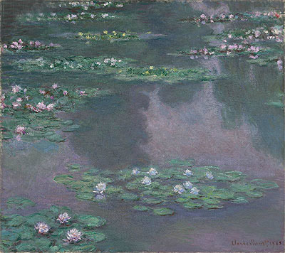 Water Lilies I, 1905 | Monet | Painting Reproduction
