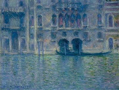 Palazzo da Mula, Venice, 1908 | Monet | Painting Reproduction